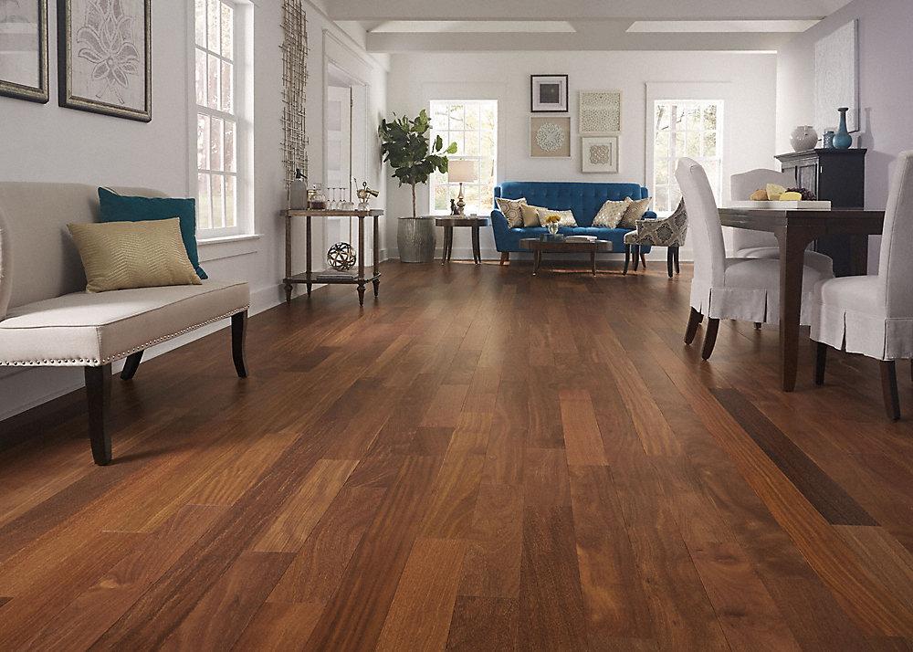 5:8 x 7-1:2 Brazilian chestnut floor