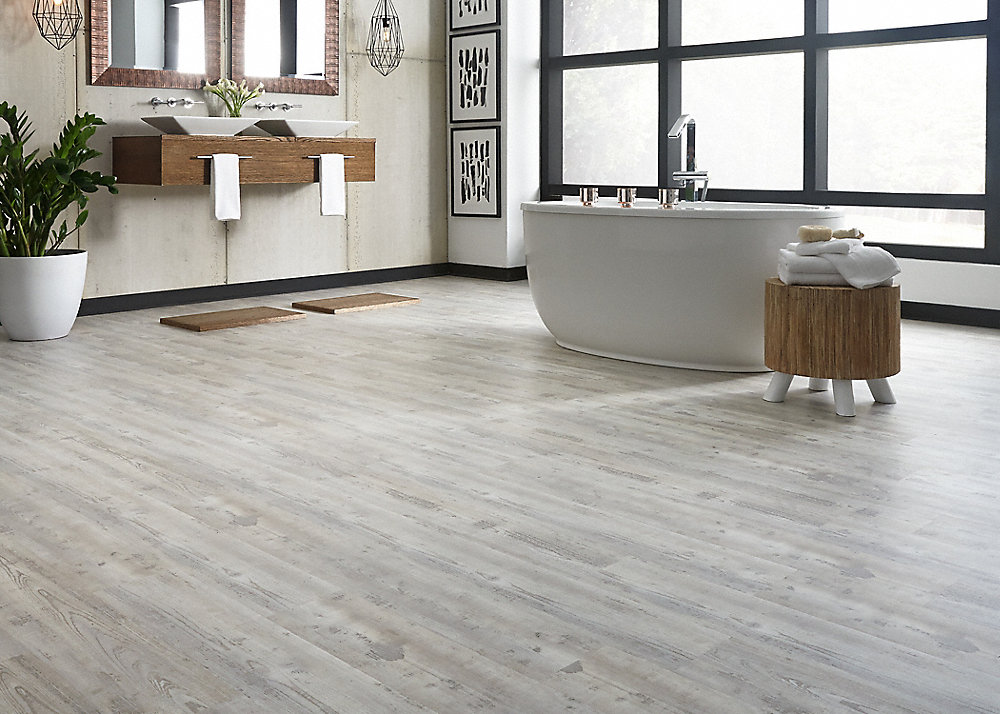 CoreLuxe 5.3mm Weathered Gray Pine EVP
