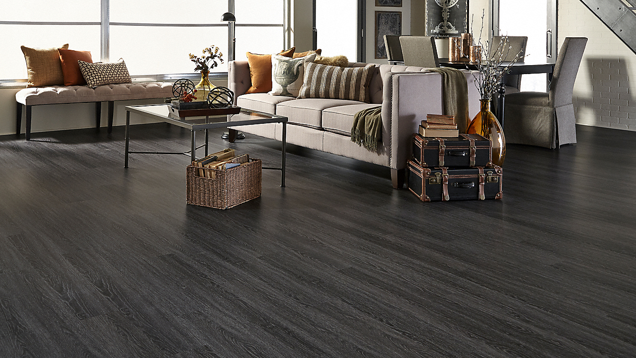 CoreLuxe 5.5mm Coal Creek Oak EVP
